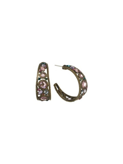 Sorrelli Lollipop Crystal Earrings EBY6AGLP