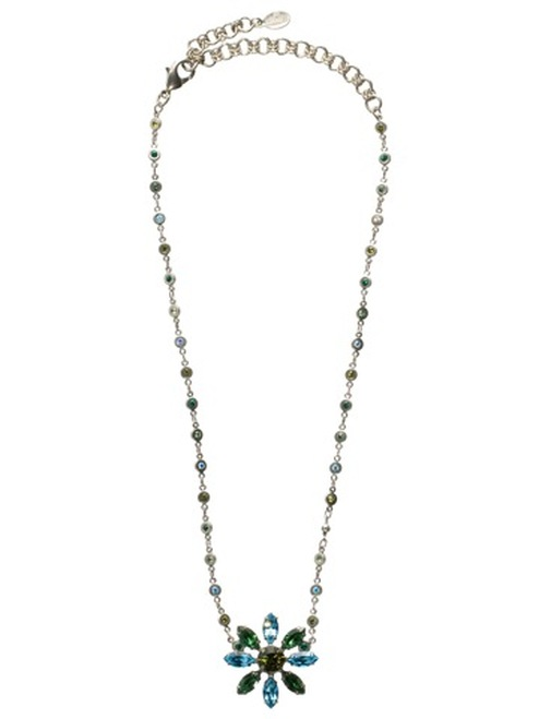 Sorrelli Ocean Crystal Necklace NBP116ASOC