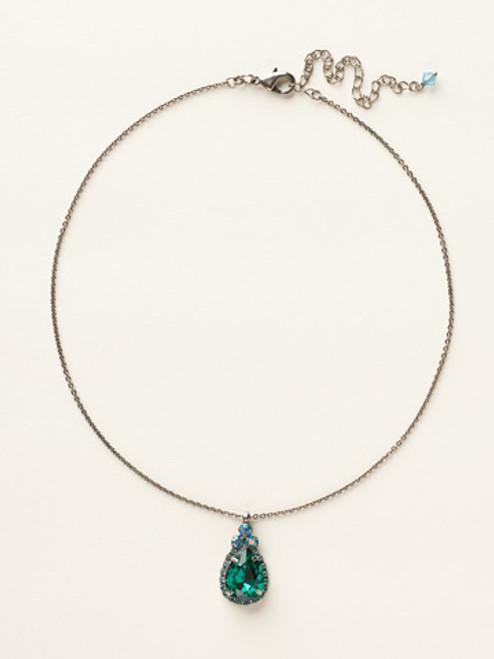 Sorrelli Ocean Crystal Necklace NCM19ASOC