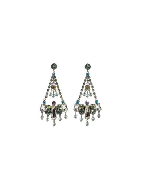 Sorrelli Running Water Crystal Earrings