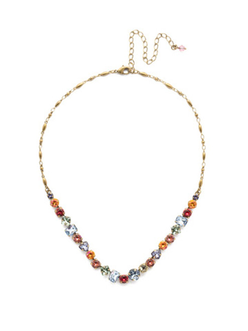 Sorrelli Bohemian Bright Crystal Necklace
