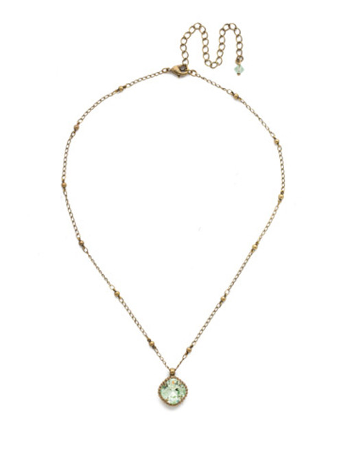 Sorrelli Bohemian Bright Crystal Necklace NDS50AGMIN