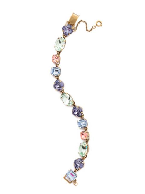 Sorrelli Bohemian Bright - Soft Silhouette Classic Line Bracelet~ BDN3AGBHB