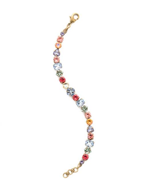 Sorrelli Bohemian Bright- Sedge Tennis Bracelet~ BDX1AGBHB
