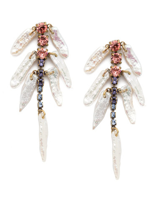 Sorrelli Bohemian Bright- Amalia Crystal Earrings~ EEC7AGBHB