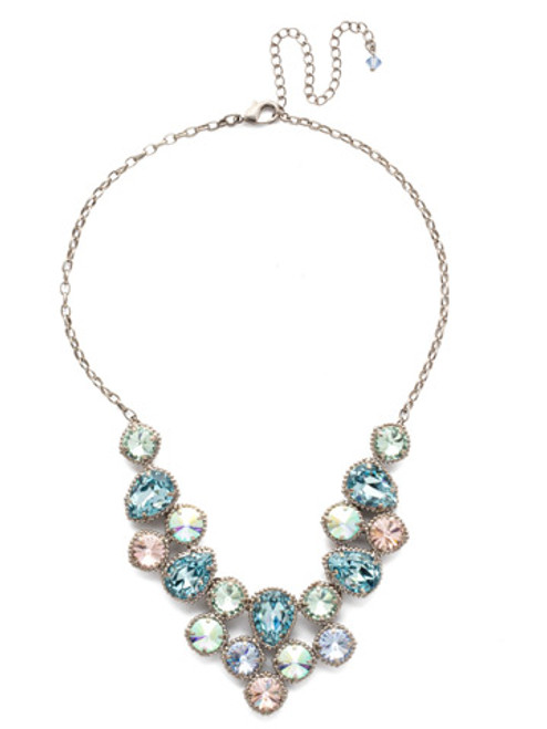 Sorrelli Pastel Prep Crystal Necklace