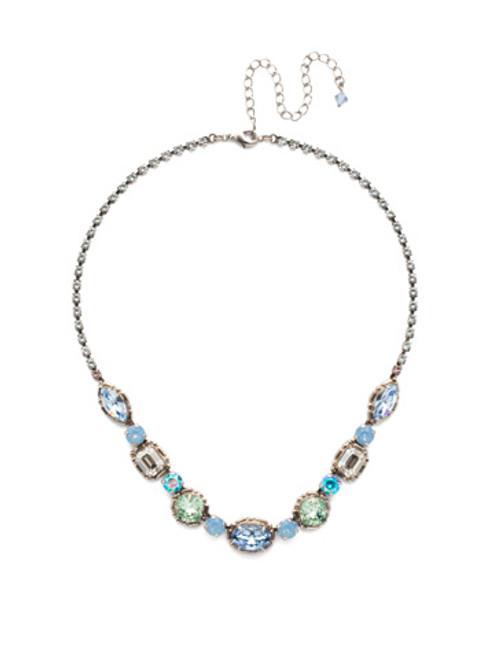 Pastel Prep Crystal Necklace