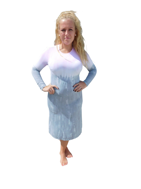 Tye Dye Dress By Annie Turbin