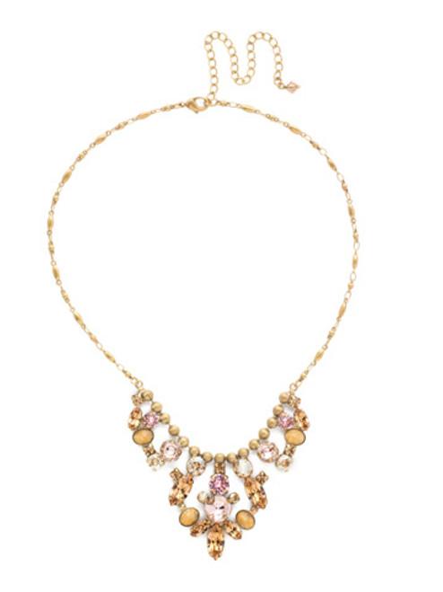 sorrelli beach comber necklace nea23agbcm