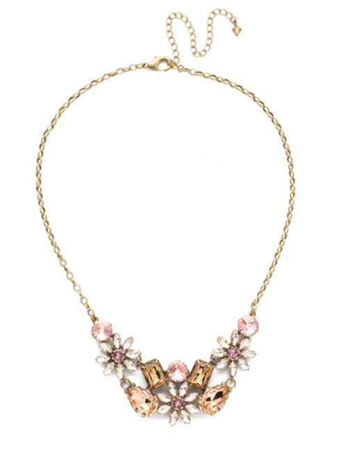 Beach Comber Crystal Necklace