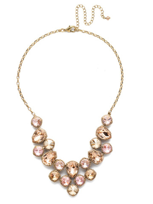 Sorrelli Beach Comber Necklace NEA43AGBCM