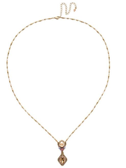 Sorrelli Beach Comber Necklace~NEA21AGBCM