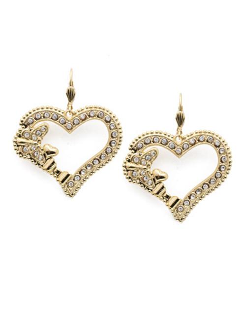 Sorrelli Polished Pearl Crystal Earrings