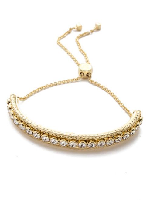 Sorrelli Polished Pearl Slider Bracelet~BEC16BGPLP