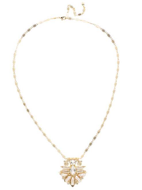 Sorrelli Polished Pearl Necklace NEC7BGCRY