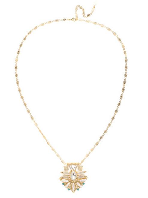 Sorrelli Polished Pearl Necklace~NEC7BGPLP