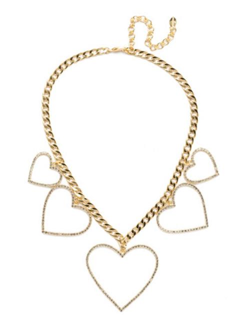 Sorrelli Polished Pearl Crystal Necklace nec22bgplp
