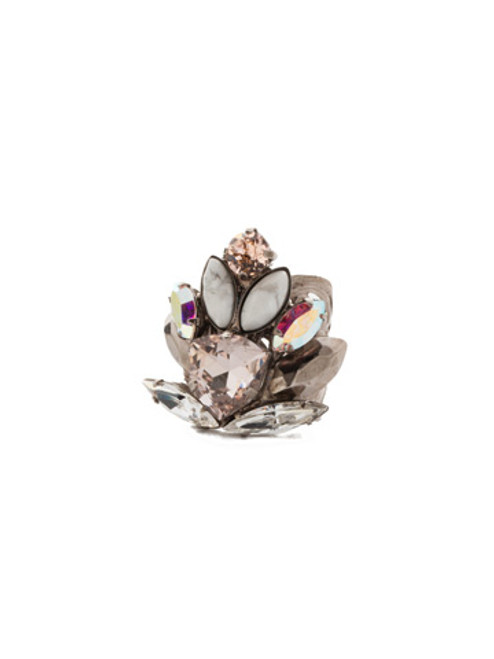 Sorrelli SILKY CLOUDS - Xenia Statement Ring ~ REE20ASSCL
