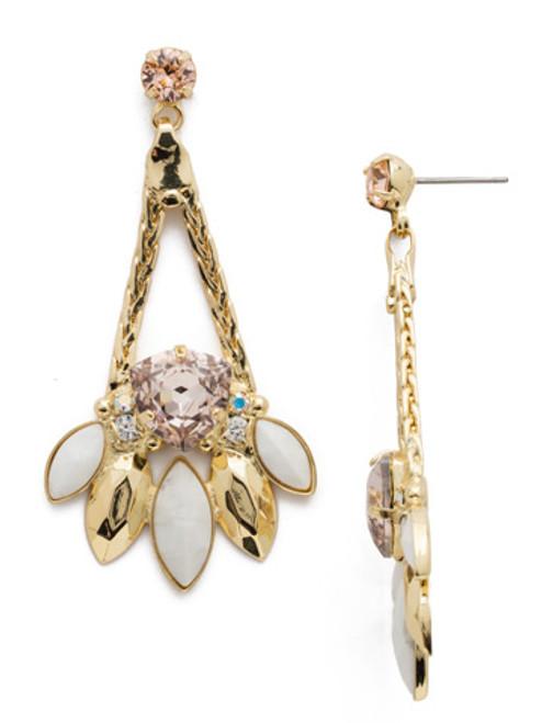 Sorrelli SILKY CLOUDS- Harmony Dangle Earrings~ EDX24BGSCL