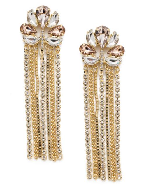 Sorrelli SILKY CLOUDS- Cassandra Statement Earrings~ EEB41BGSCL