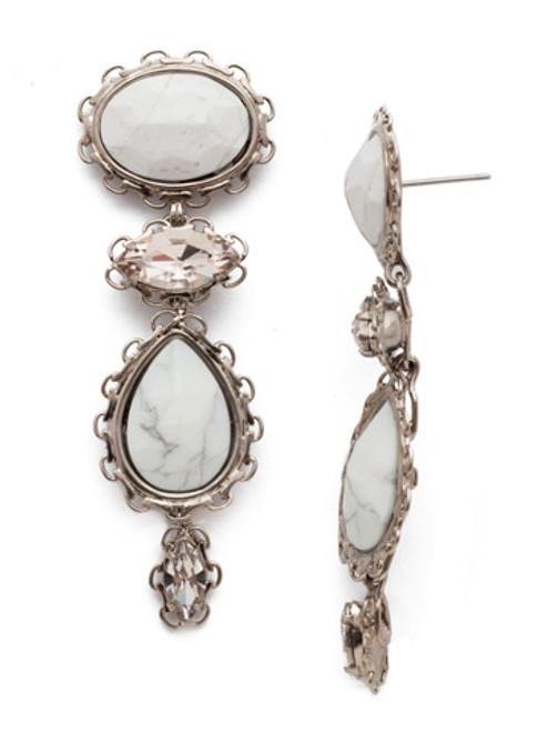 Sorrelli SILKY CLOUDS- Maria Statement Earrings~ EEE16ASSCL