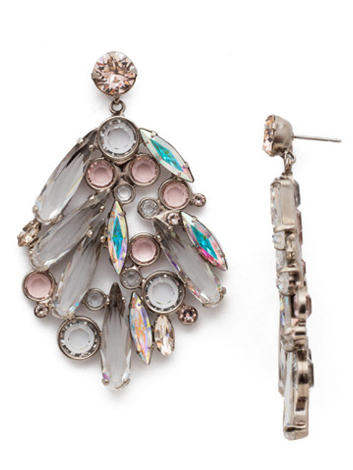 Sorrelli Silky Clouds Crystal Earrings