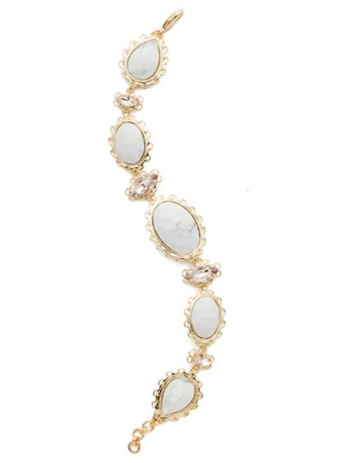 Sorrelli SILKY CLOUDS- Maria Statement Bracelet~ BEE16BGSCL