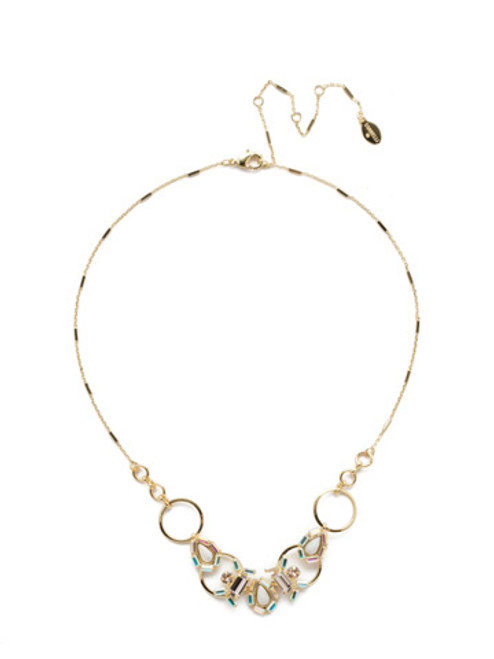 Sorrelli Silky  Clouds Necklace~NEE12BGSCL