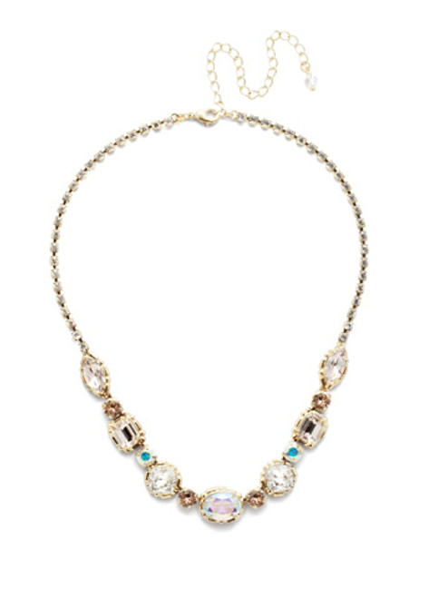 Sorrelli Silky  Clouds Necklace~NDX7BGSCL