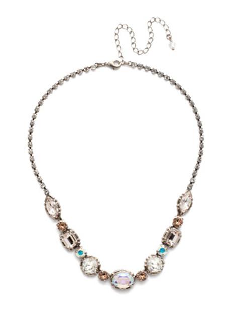Sorrelli SILKY CLOUDS- Cardoon Tennis Necklace~ NDX7ASSCL