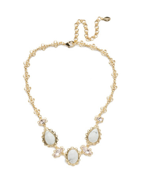 Sorrelli Silky  Clouds Necklace~NEE16BGSCL