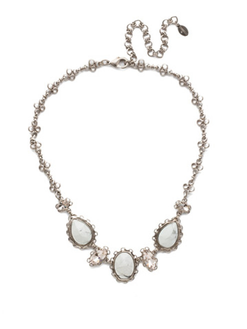 Sorrelli Silky Clouds  Necklace NEE16ASSCL