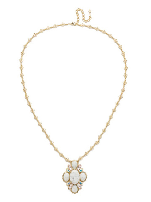Silky Clouds Necklace nee29bgscl