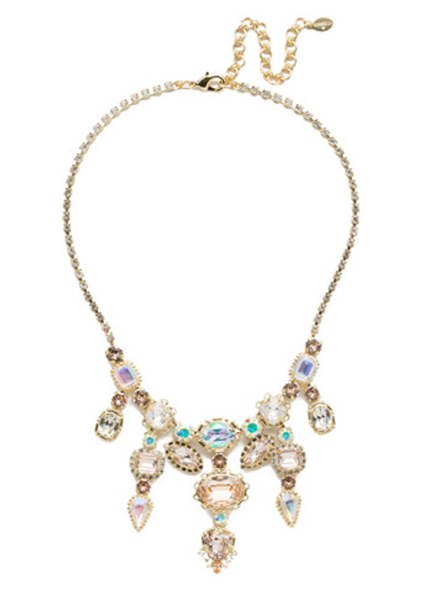 Sorrelli Silky Clouds Necklace nee35bgscl