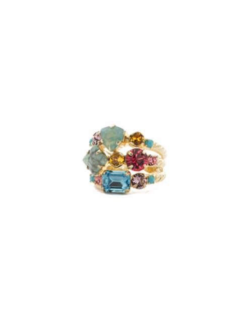 Sorrelli Candy  Pop Ring~RDX1BGCPO