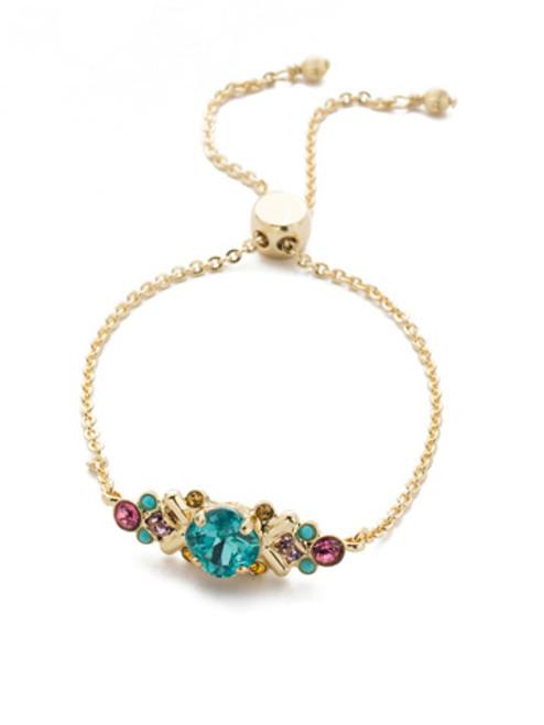 Sorrelli Candy Pop Crystal Slider Bracelet