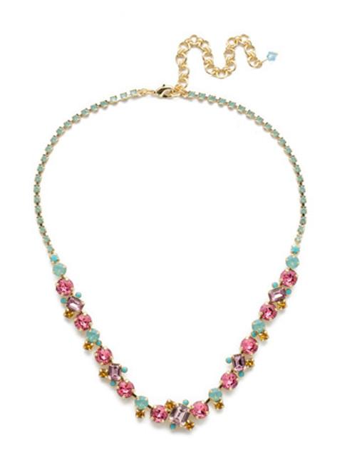 Sorrelli Candy  Pop  Necklace~NDK17BGCPO