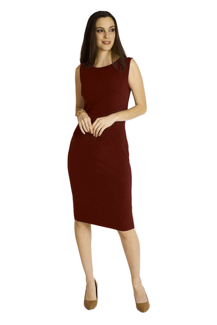 BORDEAUX body con dress by code vitesse BOD-5035