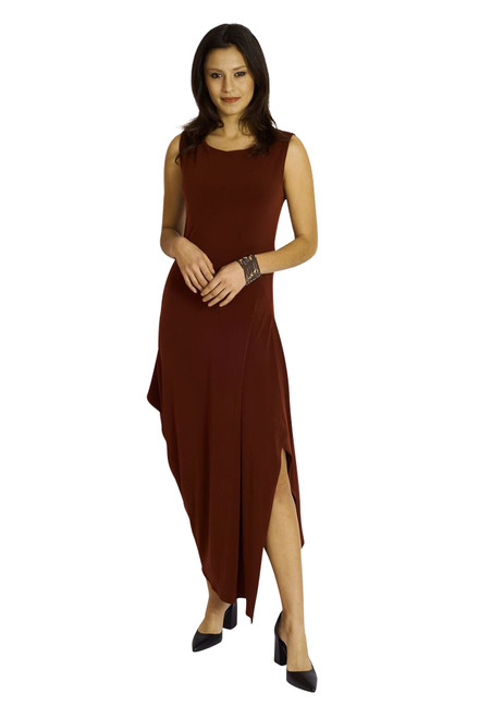 Angled Dress by Code Vitesse Bordeaux