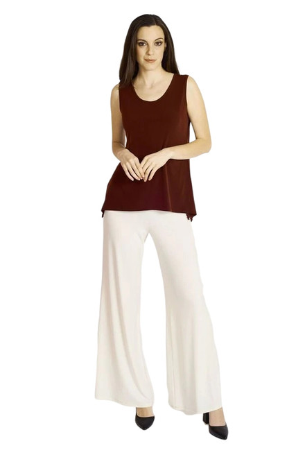 Shown in Bordeaux with Palazzo Pant-SLS1011