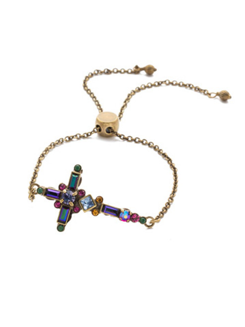 Sorrelli Game of Jewel Tones  Crystal Bracelet