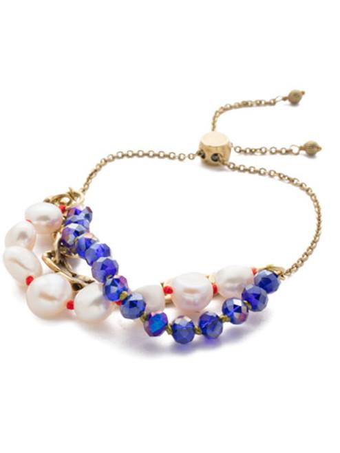 Sorrelli Game of Jewel Tones Caitlyn  Slider  Bracelet~BEF9AGGOT