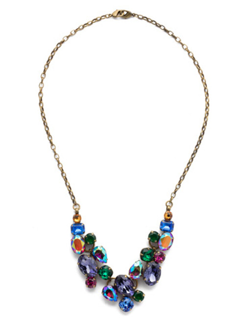 Sorrelli Game of Jewel Tones Crystal Necklace ndq6aggot