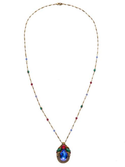 Sorrelli Game of Jewel Tones Armeria Crystal Necklace~NDX13AGGOT