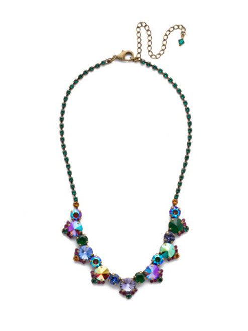 sorrelli game of jewel tones manzanita crystal necklace ndx9aggot