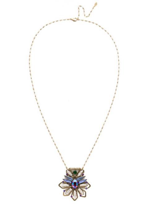 Sorrelli Game of Jewel Tones Nymeria Crystal Pendant~NEF12AGGOT