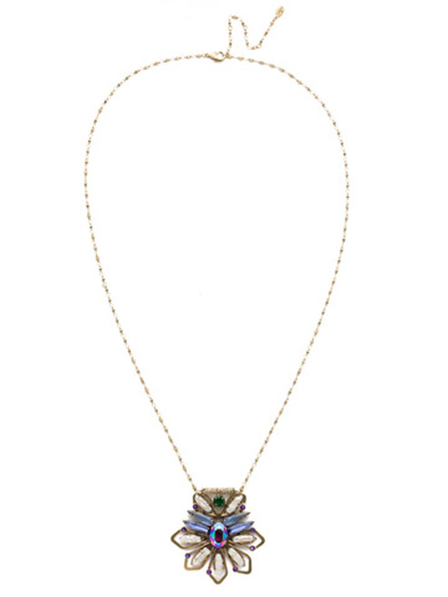 sorrelli game of jewel tones nymeria crystal pendant nef12aggot