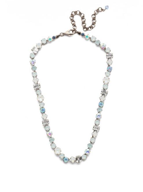 Sorrelli Glacier Crystal Necklace NDX1ASGLC