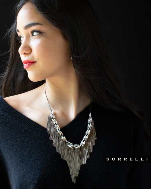 Sorrelli Urban Slate Statement Necklace 4NEF1ASCRY