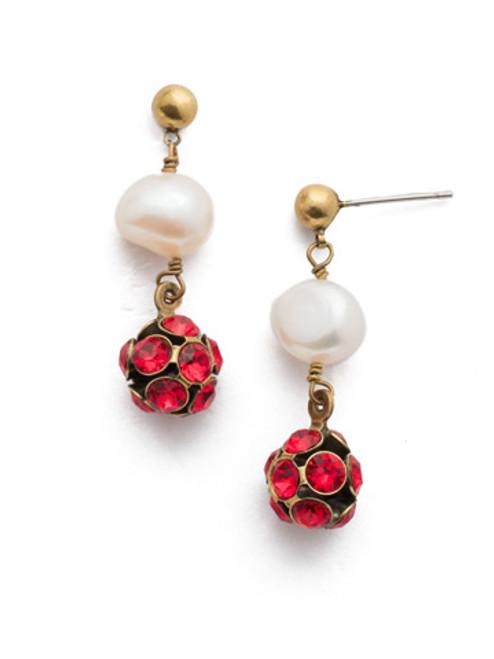 Sorrelli Sansa Red Crystal Earrings eef20agsnr